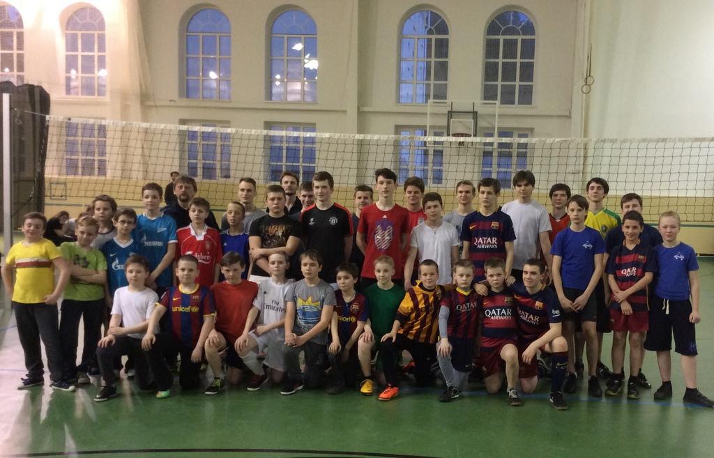 В товарищеских матчах православных школ победила дружба!